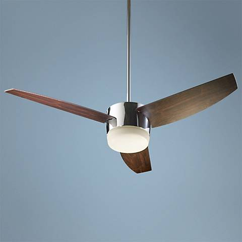 "54"" Quorum Trimark Chrome Ceiling Fan"