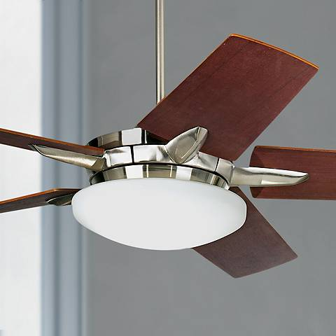 "60"" Casa Endeavor® Brushed Nickel Finish Ceiling Fan"
