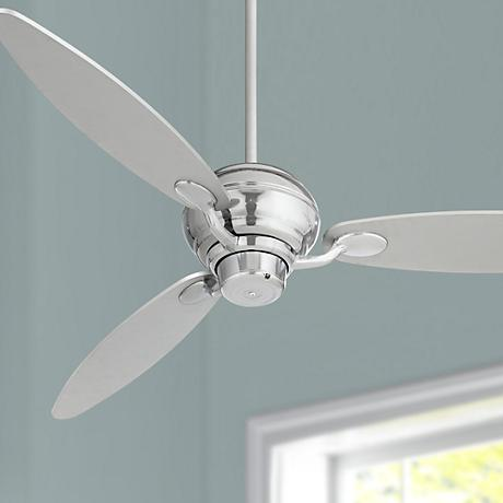"60"" Spyder™ Chrome Three Blades Ceiling Fan"