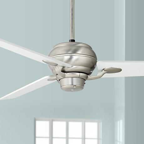 "60"" Spyder™ Brushed Steel Three Blades Ceiling Fan"