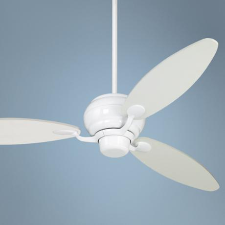 "60"" Spyder™ White Three Blade Ceiling Fan"