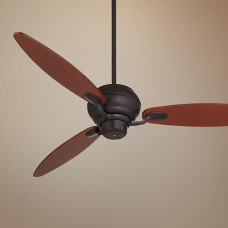 "60"" Spyder™ Matte Black Ceiling Fan"