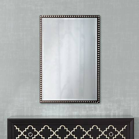 "Uttermost 31 3/4"" High Tempe Wall Mirror"