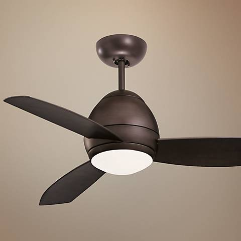 "52"" Emerson Curva Oil-Rubbed Bronze Ceiling Fan"