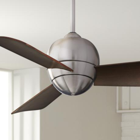 "30"" Emerson Tilo Brushed Steel Ceiling Fan"