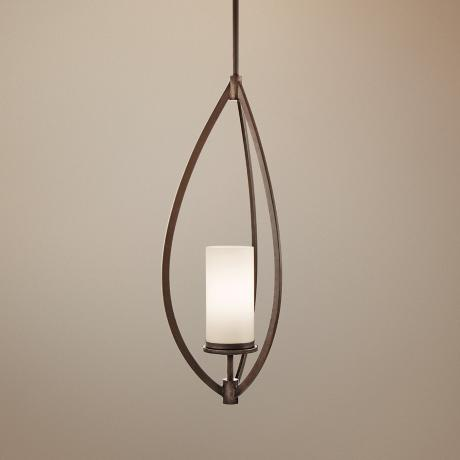 "Neptune Place Bronze 22"" Wide Pendant Chandelier"