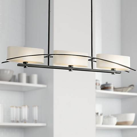 "Suspension Collection Black 41"" Large Pendant Chandelier"