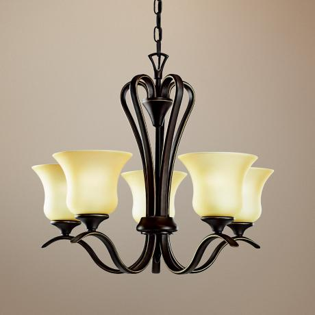 Kichler Wedgeport Olde Bronze 5-Light Chandelier