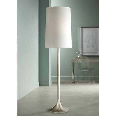 Possini Euro Design Light Blaster® Trumpet Floor Lamp