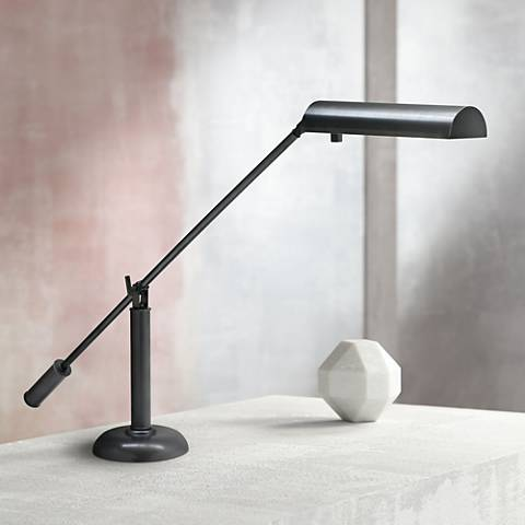 House of Troy Oil-Rubbed Bronze Counter Balance Piano Lamp