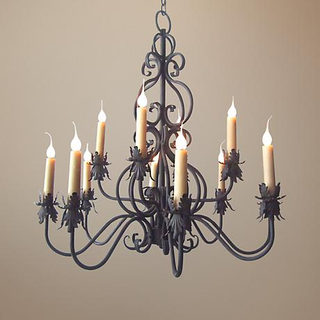 Laura Lee Juliet 12-Light Chandelier