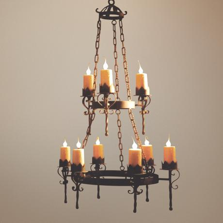 Laura Lee Gothic 9-Light Chandelier