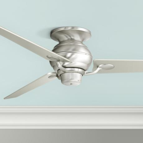 "60"" Spyder Hugger Steel and Silver Taper Blades Ceiling Fan"