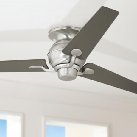 "60"" Spyder Hugger Steel and Bronze Taper Blades Ceiling Fan"
