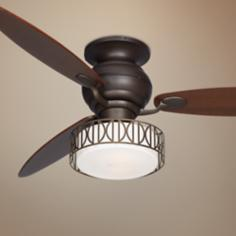 "60"" Spyder Oil-Rubbed Walnut Blades Bronze Ceiling Fan"
