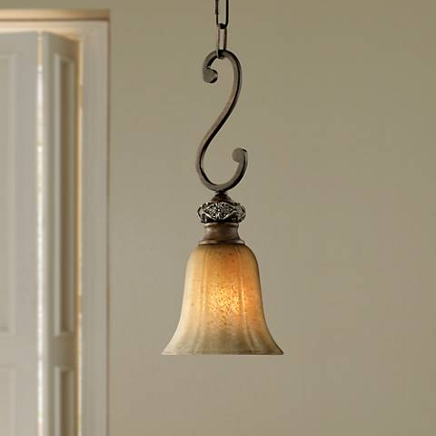 Kathy Ireland Sterling Estate Mini Pendant Light