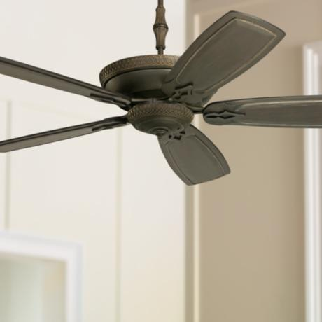 "60"" Emerson Monaco Golden Espresso Ceiling Fan"