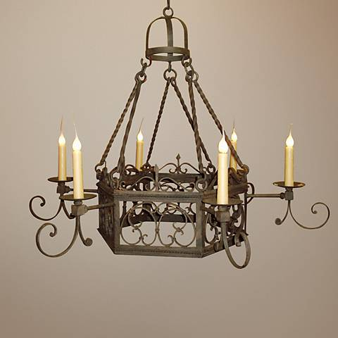 Laura Lee Mykonos 6-Light Chandelier