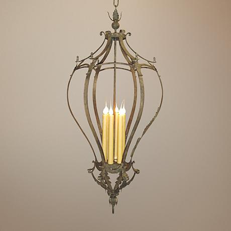 Laura Lee Alexis 6-Light Foyer Chandelier