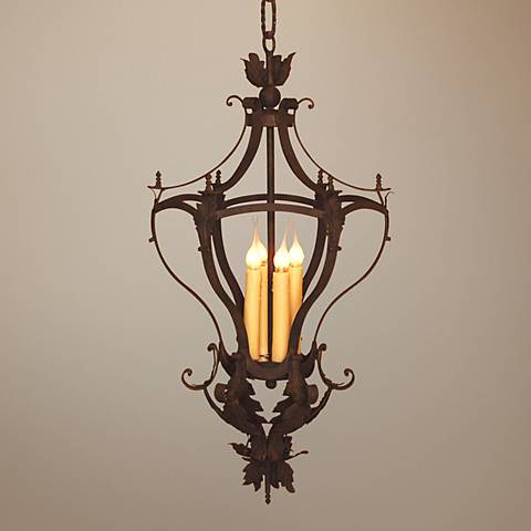 Laura Lee Alexis 4-Light Foyer Chandelier