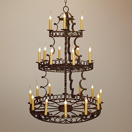 Laura Lee Cordoba 24-Light Chandelier