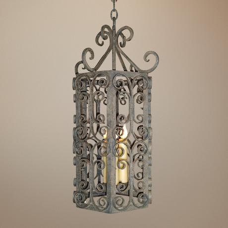 Laura Lee Danieli Lantern 3-Light Chandelier