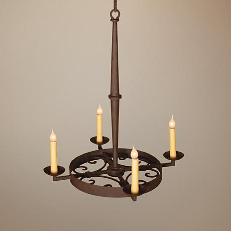 Laura Lee Leon 4-Light Chandelier