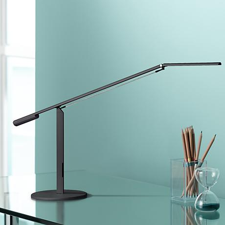 Koncept Gen 3 Equo in Black Warm Light LED Desk Lamp