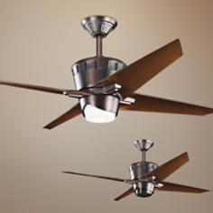 "52"" Kichler Kemble Oil Brushed Bronze Ceiling Fan"