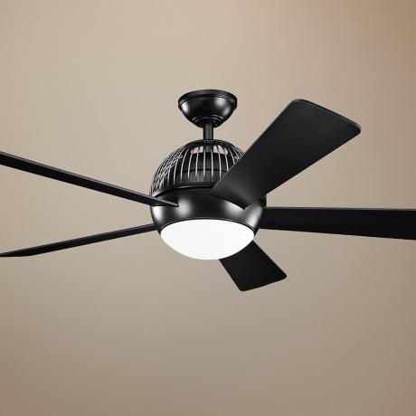 "52"" Kichler Botella Satin Nickel Ceiling Fan"