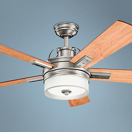 "52"" Kichler Lacey Antique Pewter Ceiling Fan"