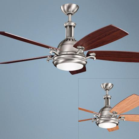 "52"" Kichler Saint Andrews Antique Pewter Ceiling Fan"