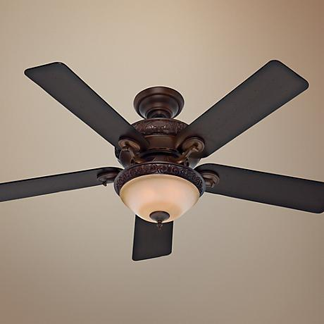 "52"" Hunter Vernazza Brushed Cocoa Ceiling Fan"