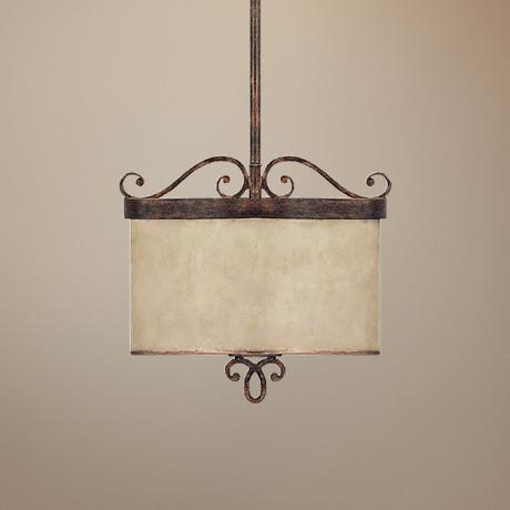 "Reserve Collection 2-Light 10 3/4"" Wide Pendant Chandelier"