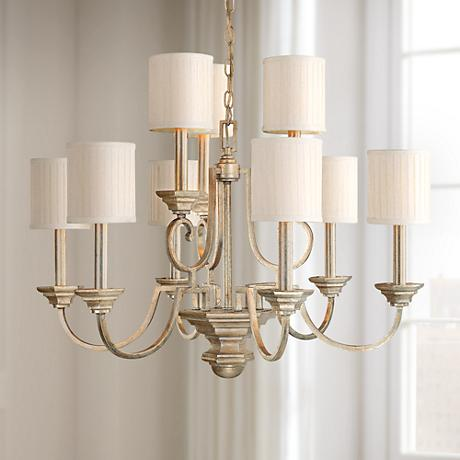 "Fifth Avenue Collection 9-Light 32"" Wide Chandelier."