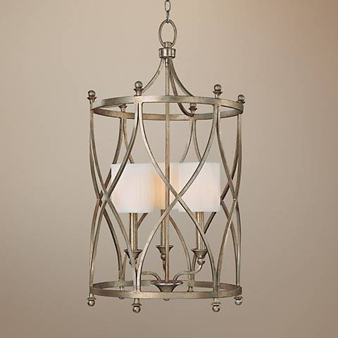 "Fifth Avenue Collection 3-Light 34"" High Foyer Pendant Light"