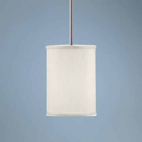 "Midtown Collection 2-Light 7 1/4"" Wide Pendant Chandelier"