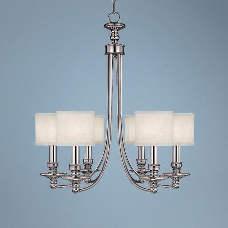 "Midtown Collection 6-Light 27"" Wide Chandelier"