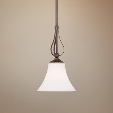 Quoizel Sophia Palladian Bronze Mini Pendant Light