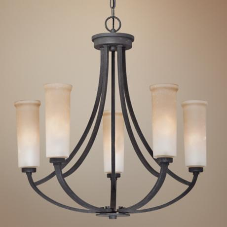 Quoizel Caitlyn 5-Light Entry Chandelier