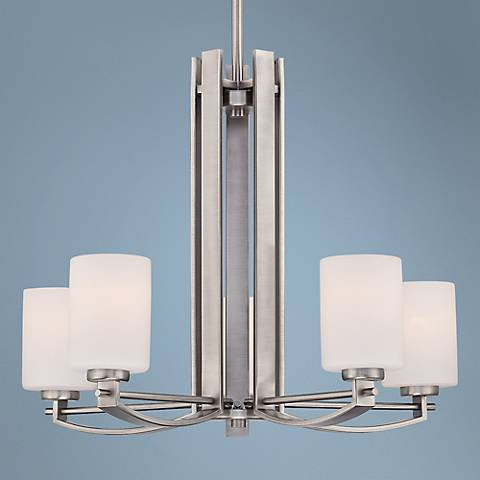 Quoizel Taylor 5-Light Antique Nickel Chandelier