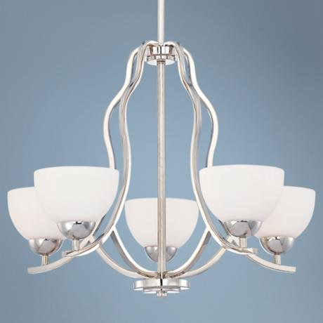 Quoizel Carter Chrome 5-Light Chandelier