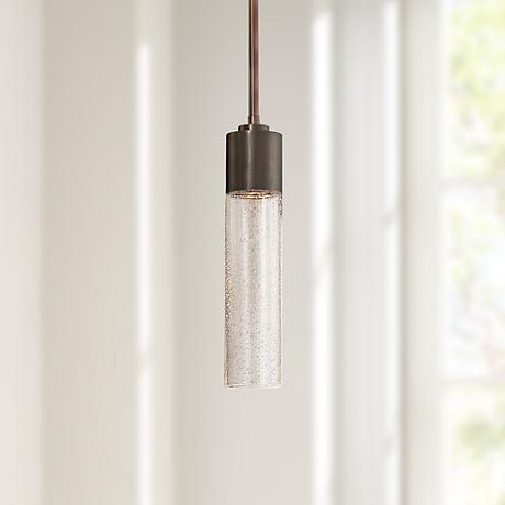 "George Kovacs Light Rain Collection 3"" Wide Mini-Pendant"