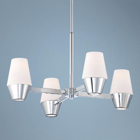 "George Kovacs Retrodome 23"" Wide Mini Chandelier"