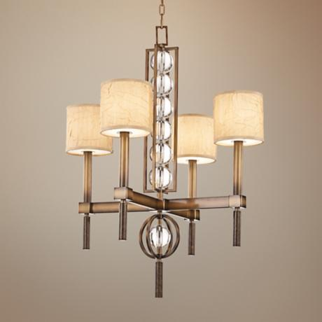 "Kichler Celestial Cambridge Bronze 28"" Wide Chandelier"