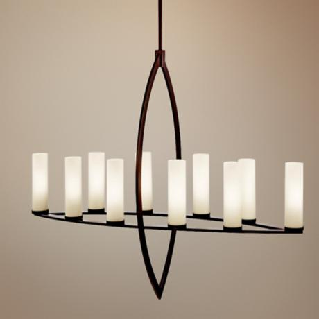 "Kichler Neptune Place 41"" Wide Large Modern Chandelier"
