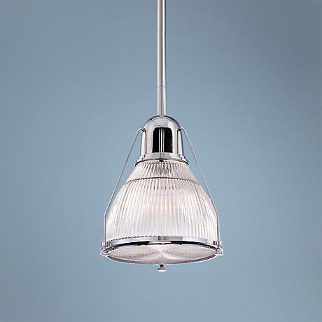 "Hudson Valley Haverhill 12""W Polished Nickel Mini Pendant"