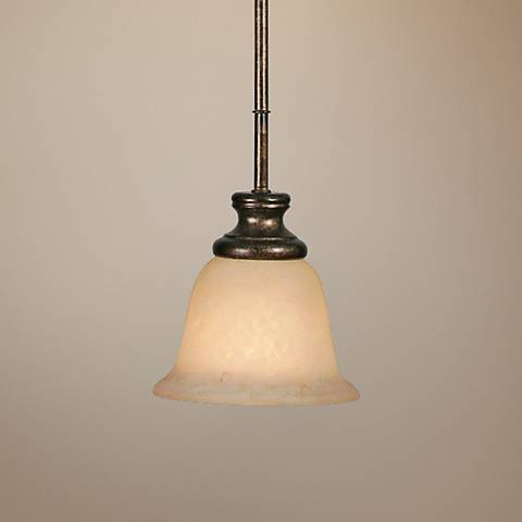 Heartwood Collection Mini Pendant Light