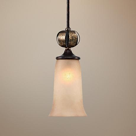 Portland Fired Bronze Mini Pendant Chandelier