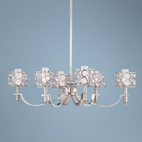 "Metropolitan Magique Collection 40"" Wide Oval Chandelier"